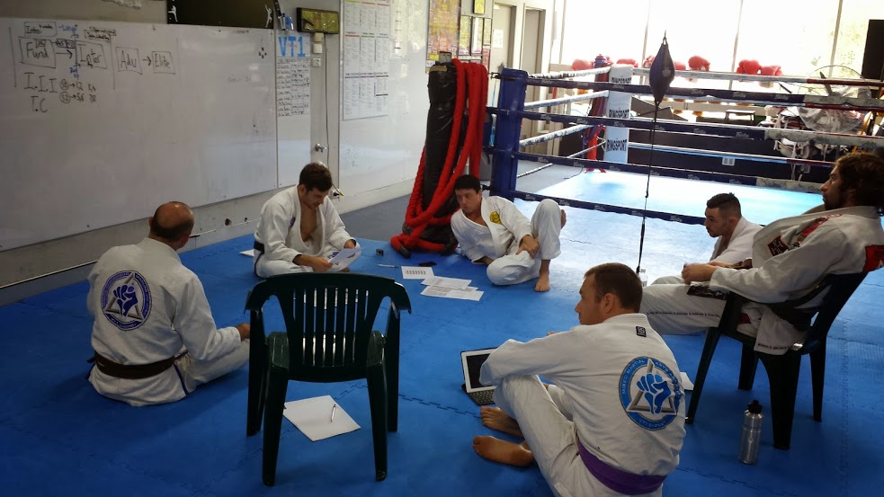 Our Coaches run through our new and improved BJJ Syllabus