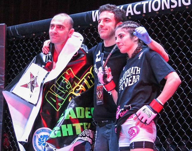 VT1 Fighter Alex Chambers wins MMA Fight in Invicta FC